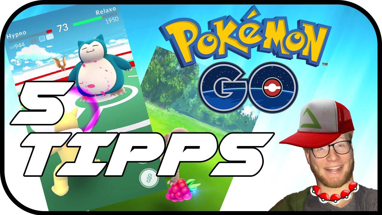 Pokemon GO! - 5 Tipps und Tricks! - YouTube