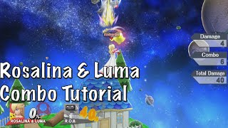 Rosalina & Luma Combo/String Video Tutorial - Super Smash Bros. 4 (Wii U)