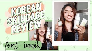 Korean Skincare Review: iUNIK pt.II 🇰🇷 | thatxxRin