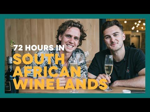 72 HOURS IN SOUTH AFRICAN WINELANDS Ft. Stellenbosch, Franschhoek, Hermanus & Constantia