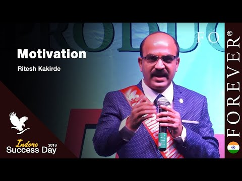 Motivation by Ritesh Kakirde at Indore Success Day
