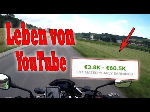 Kann ich von YouTube Leben?!