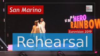Serhat - Say Na Na Na - Eurovision 2019 San Marino (Rehearsal)