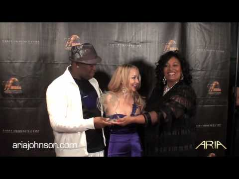 Aria Johnson  World Music Awards Acceptance