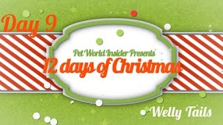 Twelve Days of Christmas - Day Nine - Pet Product TV - Welly Tails - Fortified Wild Ocean Fish Oil
