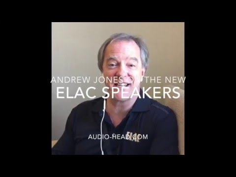 Andrew Jones of ELAC and Pioneer discusses the Debut B5 and