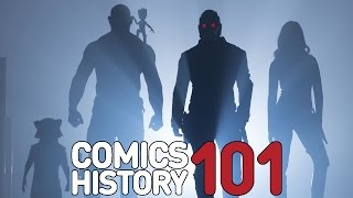Who Are the Guardians of the Galaxy? - Comics History 101