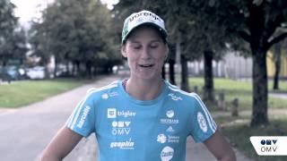 OMV Slovenija in Eva Logar navijata zate na #LJMARATON (Slovenski)