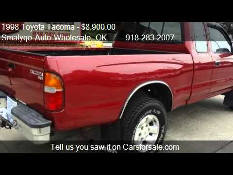 1998 toyota tacoma xtracab 4wd for sale in claremore ok. Black Bedroom Furniture Sets. Home Design Ideas