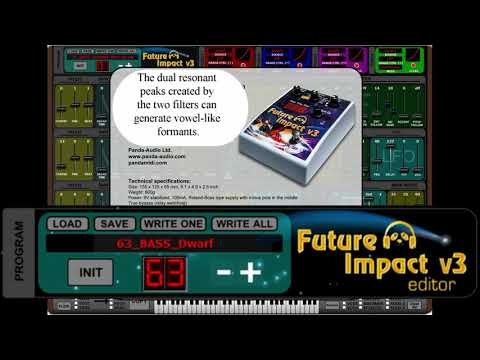 Seek out new worlds of tone as pandaMidi launches the Future Impact v3 guitar and bass synth pedal | MusicRadar