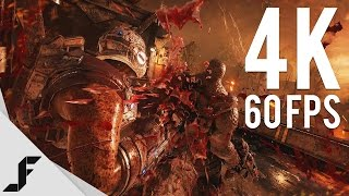 GEARS OF WAR 4 4K 60FPS - Insane Graphics!