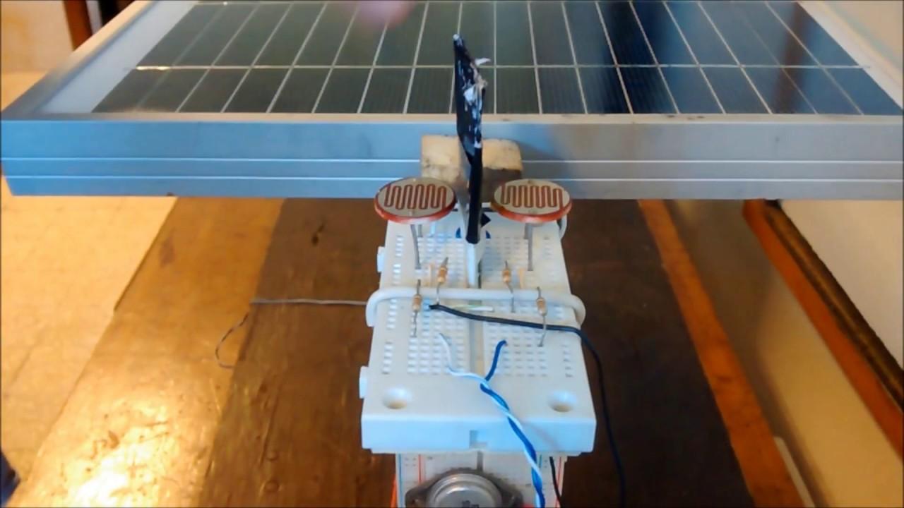 Tallerine 2014 Seguidor De Luz Para Panel Solar Youtube