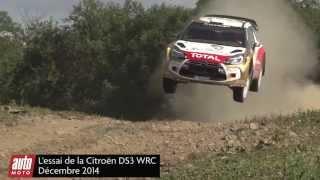 Citroën DS3 WRC : nous l'avons essayé sur circuit - Auto-moto.com