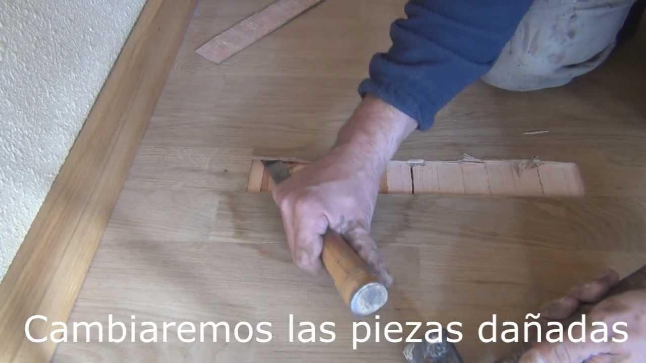 Como arreglar el parquet trucos y consejos para mantener - Como reparar piso de parquet rayado ...
