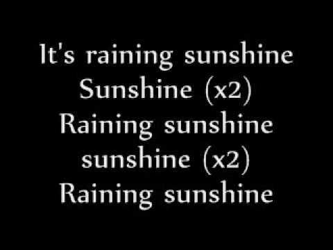 Raining Sunshine; By:Miranda Cosgrove (LYRICS ON SCREEN) New!
