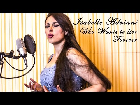 ISABELLE ADRIANI - To Movies With Love - Who Wants To Live Forever By Queen
