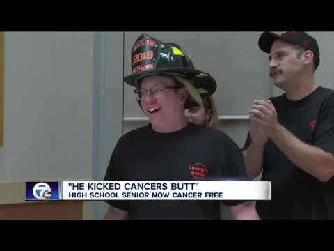 Cheektowaga high school senior now cancer free