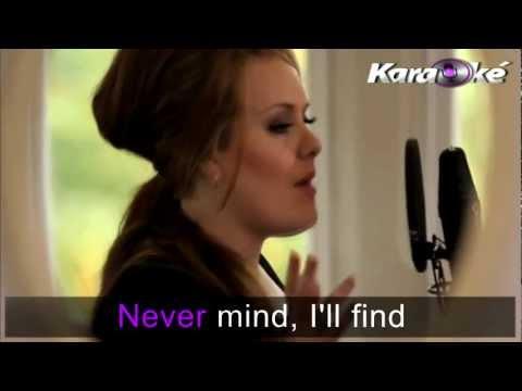 adele-someone likeyou-karaoke lyrics (KARAOKE)