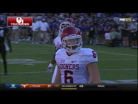 Oklahoma at TCU | 2016 Big 12 Football Highlights