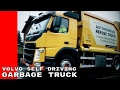 watch he video of Volvo Autonomous Self Driving Garbage Truck