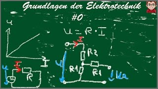 Einführung in die Elektrotechnik: Der elek. Gleichstrom&elek. Ladung,Strom,Spannung[Grundlagen] #0
