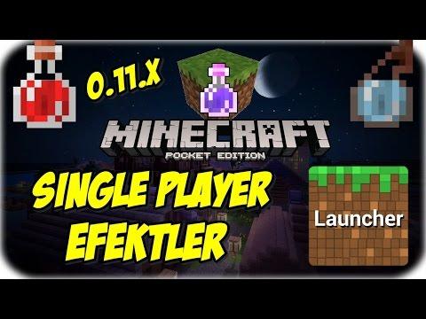 Minecraft PE: 0.11.0 Single Player | Büyü Efektleri Modu | Block Launcher 1.9 Beta 5