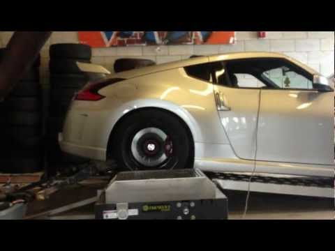 370z Nismo Dyno full bolt on and tune