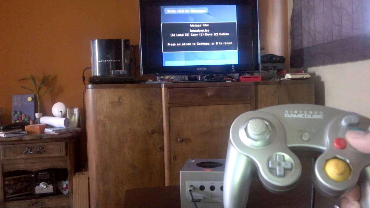 how to use swiss gamecube