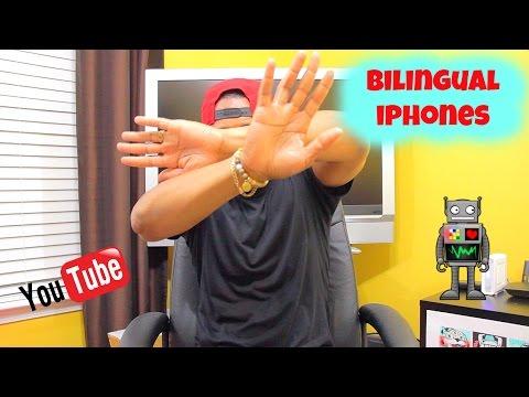 Bilingual iPhones