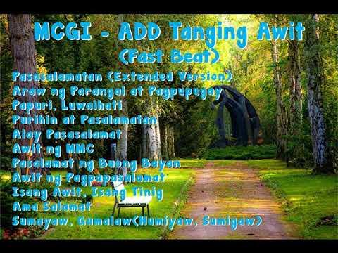 Mga Tanging Awit Ng ADD (Fast Beat) - MCGI