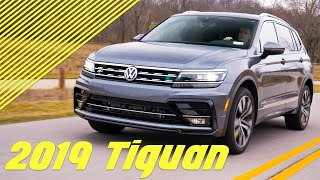 2019 Volkswagen Tiguan - The MOST HIGH TECH VW SUV!!
