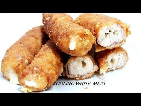 ROLOVANO BELO MESO /PREDLOG ZA SAVRŠEN RUČAK/ROLLING WHITE MEAT