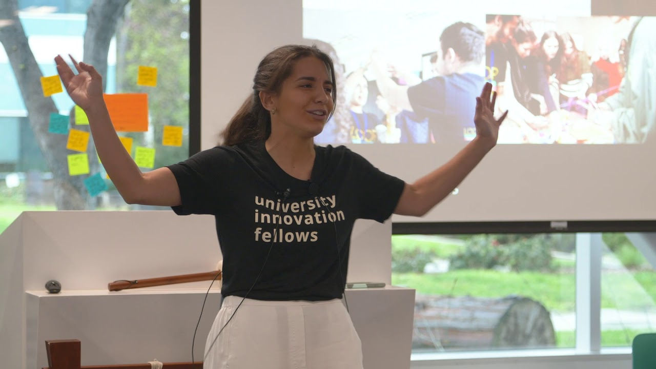 UM   Students gave a talk at Stanford University