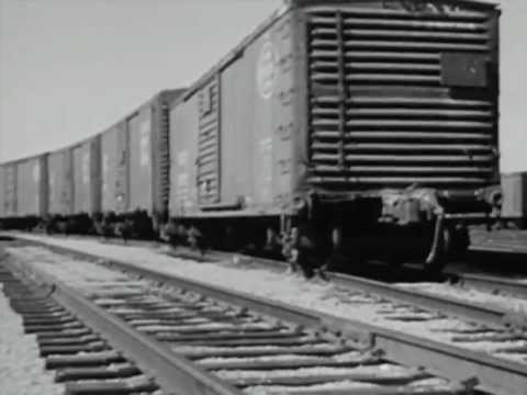 New York Central Railroad Operations during the 1950's - The Big Train - CharlieDeanArchives