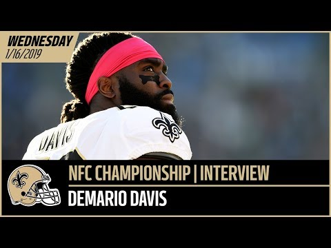 LB Demario Davis Previews NFC Championship vs Rams - Wednesday Interview | New Orleans Saints