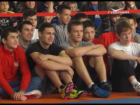 Олимпийский чемпион Александр Карелин провел в Самаре мастер-класс