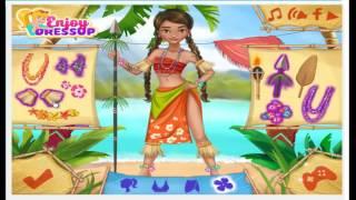 Moana Princess Adventure Cartoon Video Game For Kids