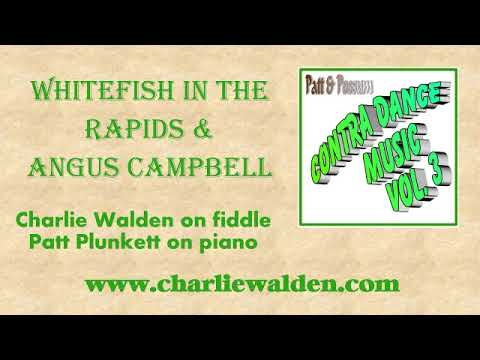 Whitefish In The Rapids & Angus Campbell By Patt & Possum