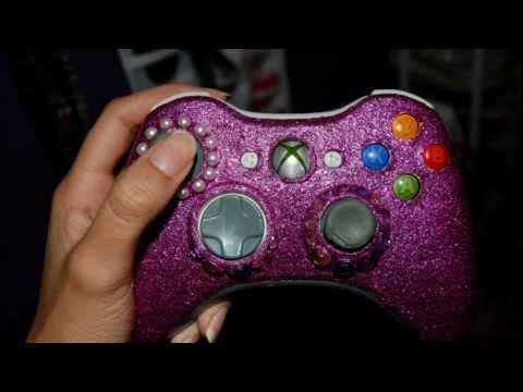DIY: Glitter Xbox360 Controller