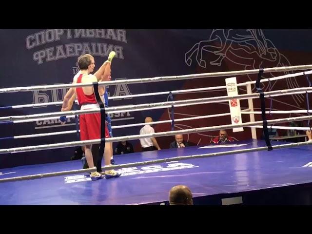 Победа на всероссийских соревнований по Боксу
