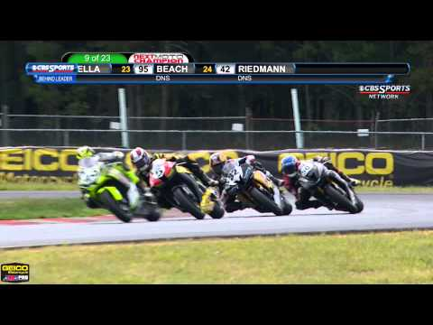 AMA Pro GoPro Daytona SportBike FULL Race 1 (HD) - New Jerse