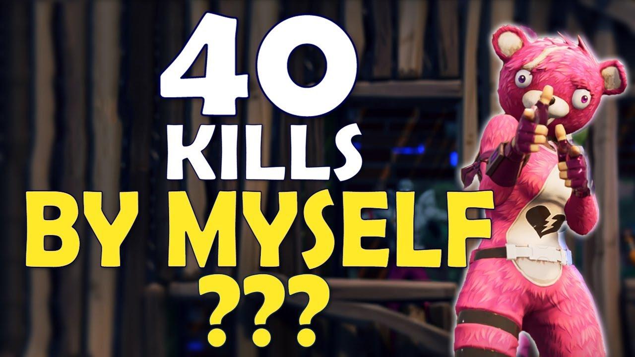40 Kills Alone World Record Most Kills Ever In Fortnite History