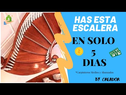 como hacer escaleras de madera curva curbhow to make wood stair oak pine