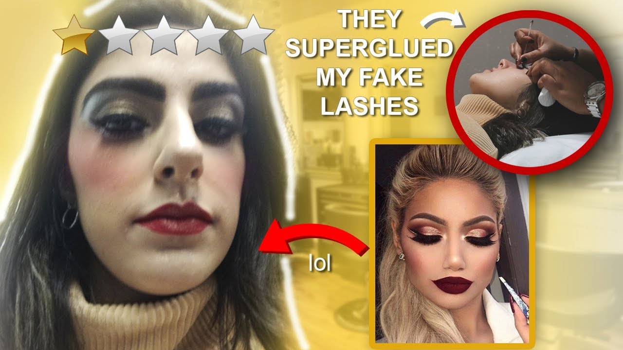 I WENT TO THE WORST REVIEWED MAKEUP ARTIST IN MY CITY | Stormie.