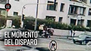 Video: Momento exacto cuando disparan a policía Edwin Caro en Bogotá - El Espectador