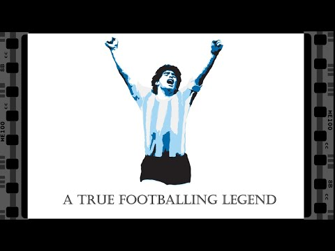 [OC] Diego Maradona: A True Footballing Legend