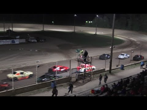 Flinn Stock Feature Race at Crystal Motor Speedway, Michigan on 08-31-2019!
