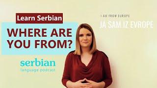 Learn Serbian Language. Useful Serbian Phrases Podcast 3