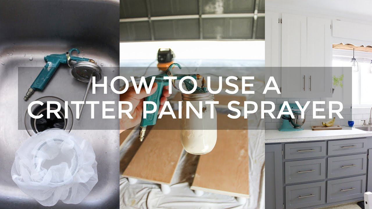 How To Use A Critter Paint Sprayer
