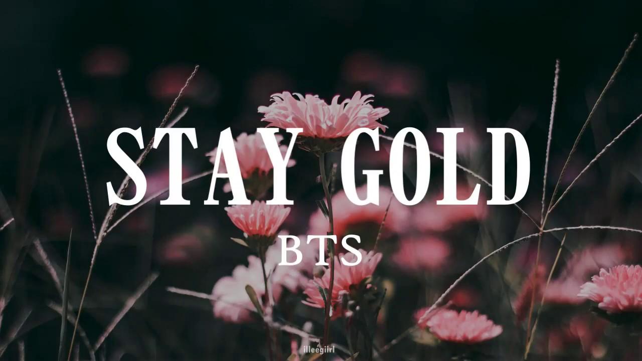 Gold 歌詞 Stay bts